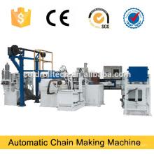 Cadena de fabricación de cadena de alambre de acero, máquina de fabricación de enlace de hierro
