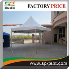 Diameter 3m pop-up poles china hexagon pagoda tent wholesale