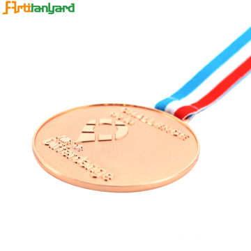 Honor Symbol Custom Award Medals with Copper plating