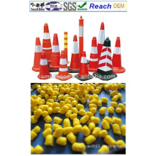 Flexible PVC Traffic Cone Granules