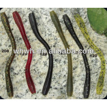 hot sell soft fishing lure soft worm 11cm/3.8g
