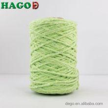 Hilo de algodón crudo reciclado de alta calidad para trapeadores