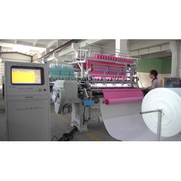 Máquina de acolchoar multi-agulha de luxo