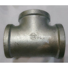 Banded Galvanized Tee Malleable Iron Pipe Fittings