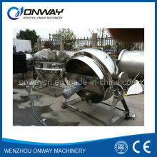 Kqg Industrial Jacketed Kettle Steam Jacketed Brew Kettle Tilting Evaporator