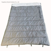 Water Proof Rainproof Rectangle Double Sleeping Bags Hunting Camping Sleepingbags