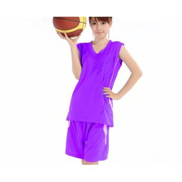 fashionable female basketball jersey for training