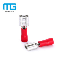 Factory Supply Insulated Double Crimp Female Disconnects Terminal