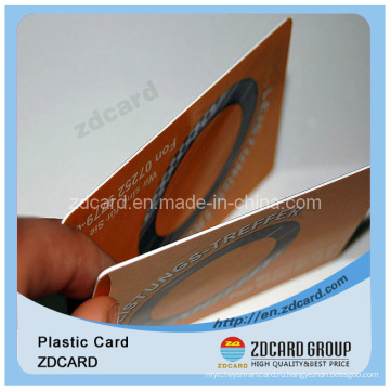 Пластиковая карточка с карточкой из ПВХ штрих-кода