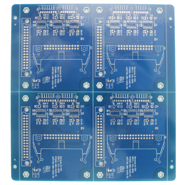 Blue solder mask double layer PCB