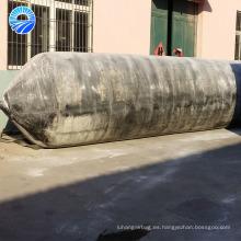 Airbag flotante de la nave de goma para el pontón