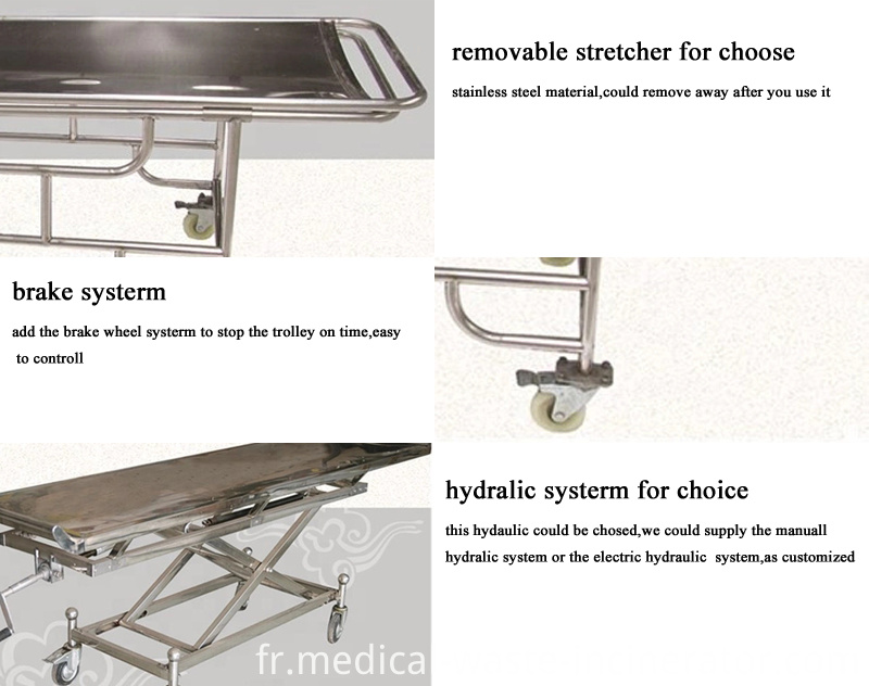 Morgue Trolley Equipment