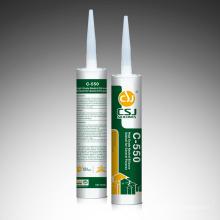 Mastic silicone à usage général Neatural C-550 One Aluminium pour verre