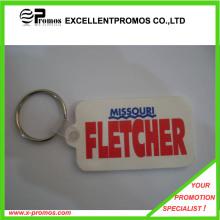 Fashionable Style Large Logo Rubber Keychain (EP-K9151)