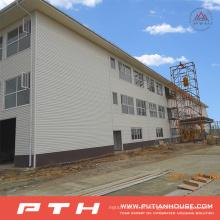 Armazém de estrutura de aço pré-fabricado personalizado Pth Design