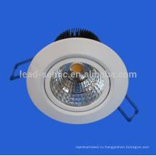 Новый прибытие производитель производитель природа белый 4000k CRI 80 COB sharp led downlight