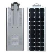Luz de rua solar integrada 80w