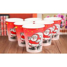 Christmas Disposable Coffee Paper Cup