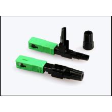Connecteur rapide fibre optique SC / APC