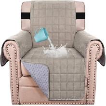 Capa 100% impermeável para móveis para sofá Capas para sofás de camurça Capa protetora de veludo para sofá para cadeira