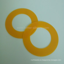 Válvula de disco de expulsión de silicona sin respirador