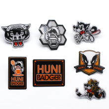 Wholesale Gifts Custom Metal Printing Logo Hat Lapel Pin