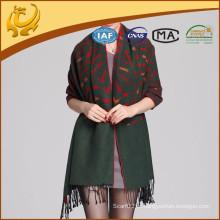 Revestimento de xale de pashmina de mulher com viscose de seda feminina