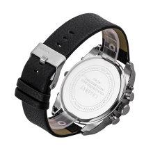 Relógio de Quartzo Multifuncional para Homens Duplo Movimento Japão