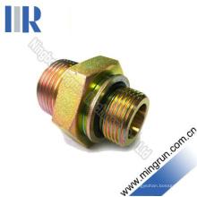 Adaptador hidráulico do tubo do encaixe do o-Ring de Bsp Male / Bsp (1BG)