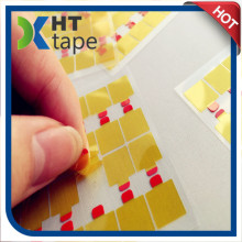 Die Cutting Golden Finger Tape with Easy Tear Sticker