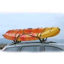 Easy mounted aluminum kayak rack