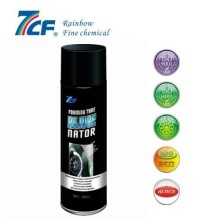 spray de brilho de pneu de carro