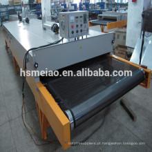 Profissional PTFE microondas equipamentos secagem correia transportadora
