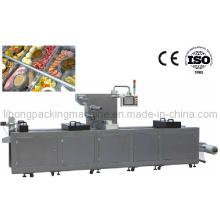 Dlz-320 Máquina de embalagem a vácuo de alimentos marinhos com extensão contínua e automática completa