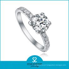 Alianças de casamento de prata esterlina estilo novo (SH-R0084)