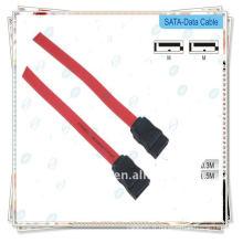 Câble de données Sata rouge Premium pour câble de données du disque dur HDD