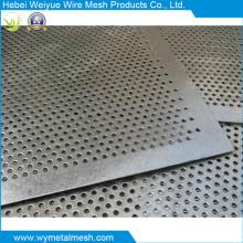Перфорированный металлический лист из оцинкованной стали