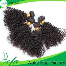 Афро Двойной Уток Бразильские Странный Фигурные Расширения Человеческих Волос