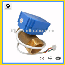 2way full port mini electric valve for solar hot water system