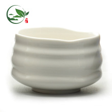 New Product Customized Logo White Ceramic Salad Matcha Bowl