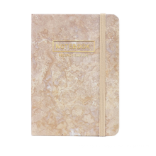 Wholesale Custom A5 A6 Diary Daily Weekly Monthly Marble Planner Notebook
