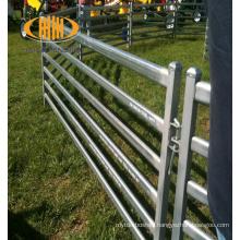 Portable metal welded stock yard panels, sheep & goat pen panels for sale