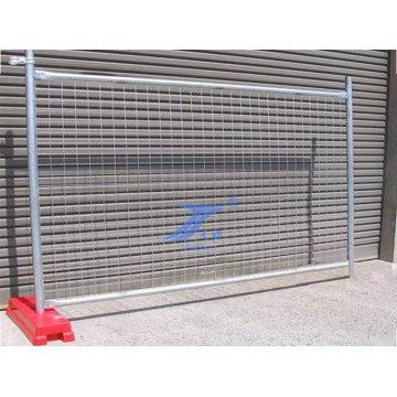 Facile d'installer la clôture temporaire mobile