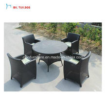 C - Polyester Rattan Patio Round Table