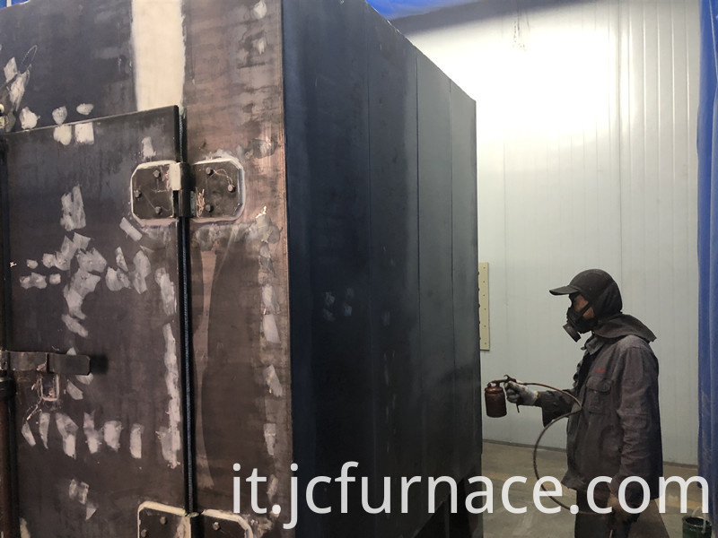 Sintering furnace professional spray paint