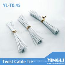Lazos de torcedura del PVC Material (YL-T0.55)