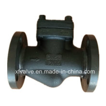 Forged Carbon Steel A105 Flanged Connection End Lift Check Valve