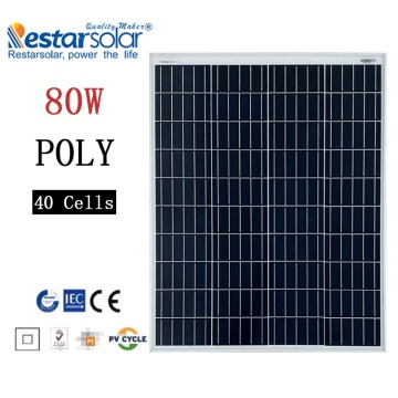 Mini panneaux solaires 80w toit maison