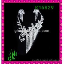 Die europäische und amerikanische Halskette, Strass Großhandel Halskette