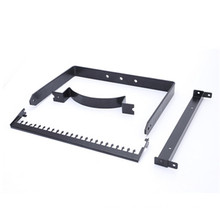 OEM black coated Stainless Steel Stamping Gutter bracket Different Types of Brackets clamps Hardware